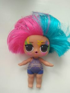 Lol hairgoals splatters doll changing colour
