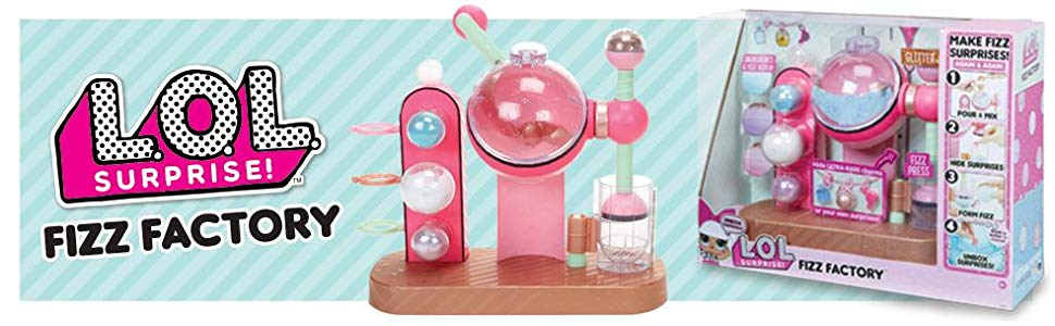 lol surprise fizz maker playset 3