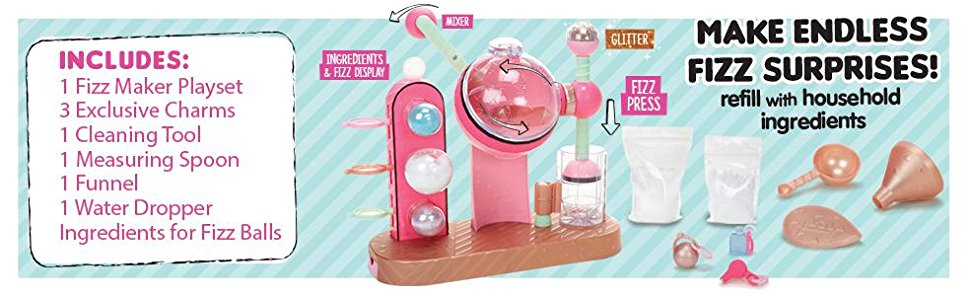 lol surprise fizz maker playset 5