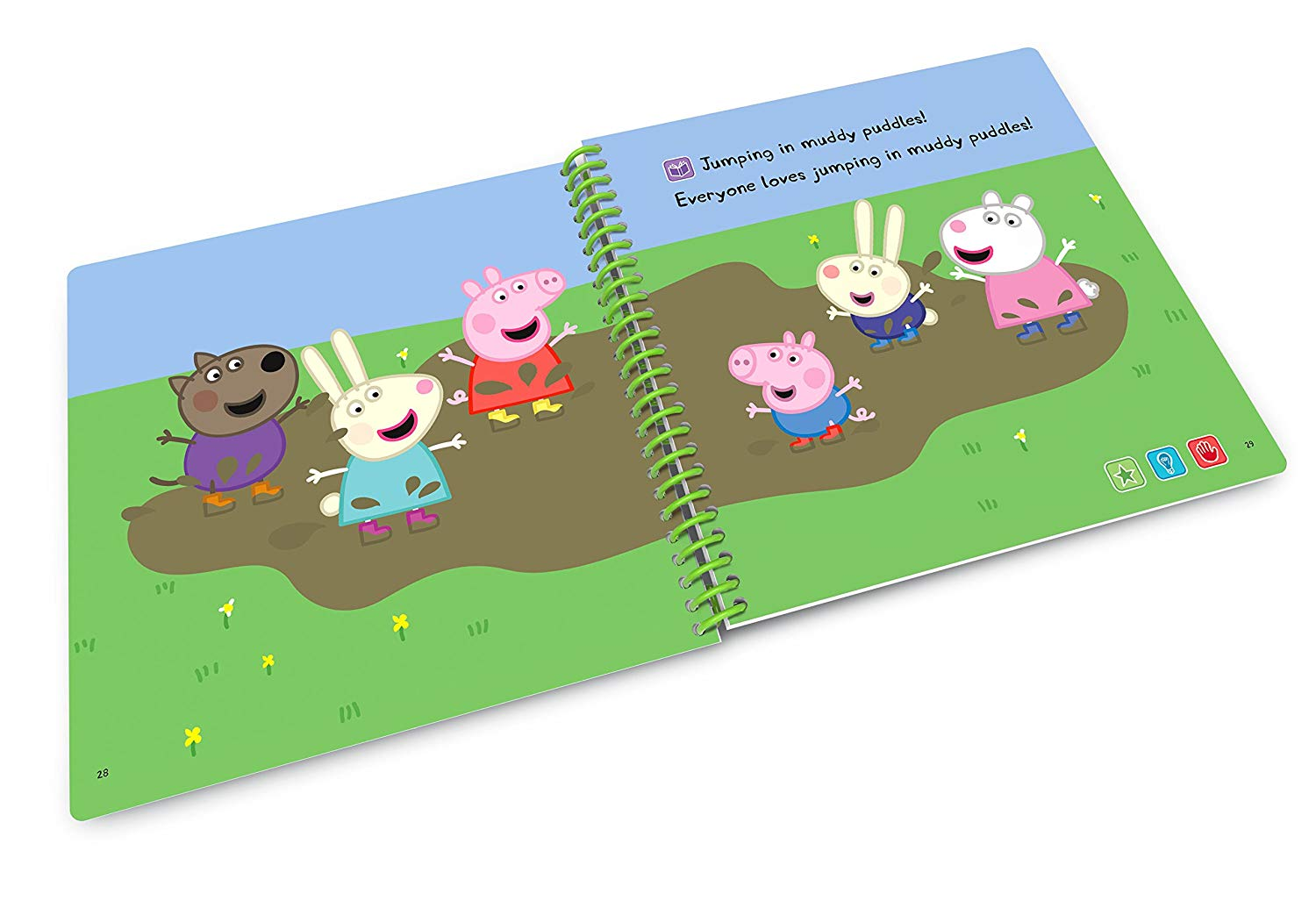 peppa pig playing book 1