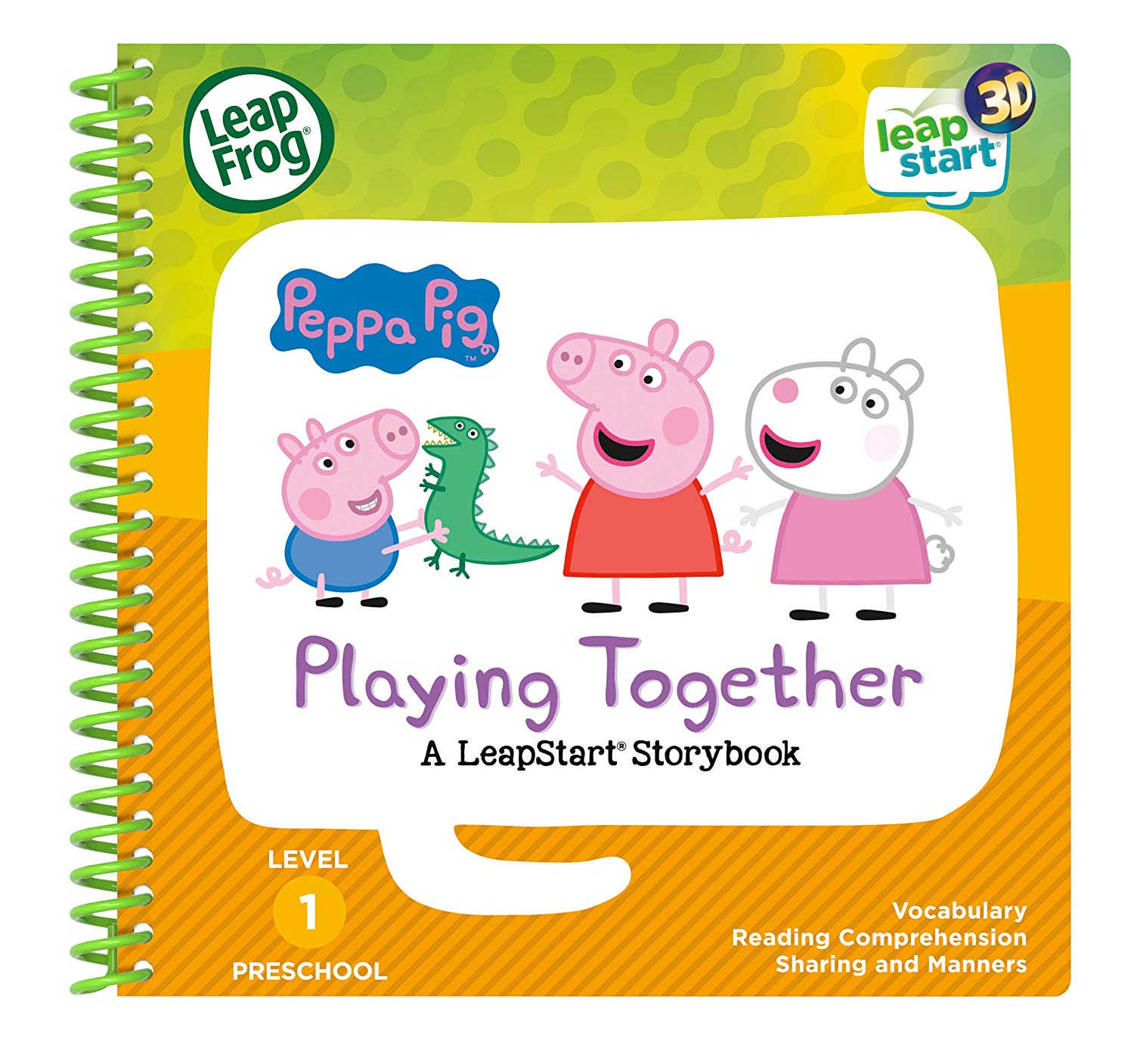 peppa pig playing book