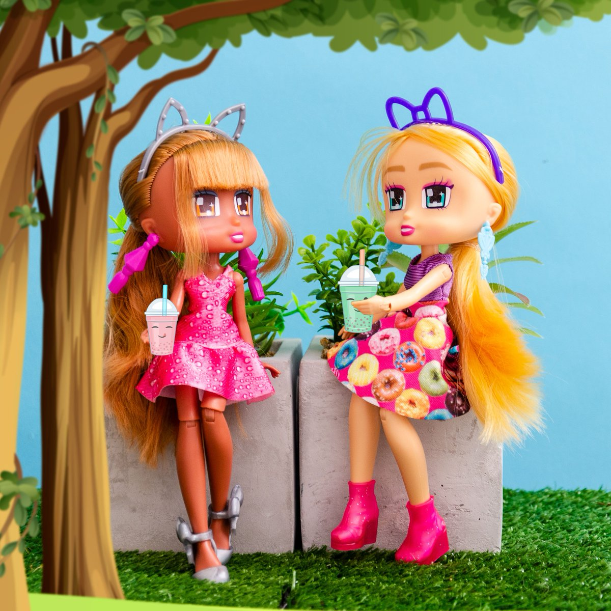 boxy girls dolls