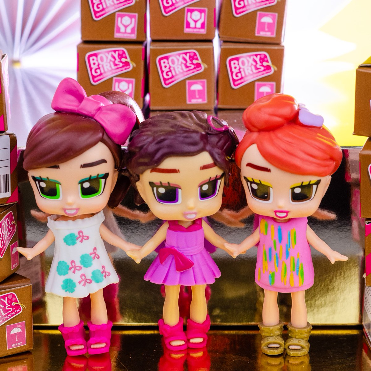 boxy girls mini dolls