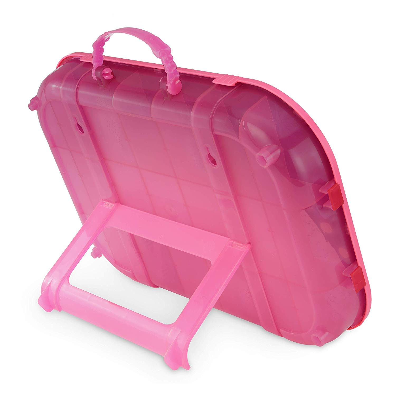 lol surprise fashion show on the go hot pink storage playset