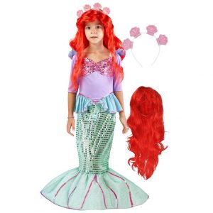 Halloween Costume mermaid set