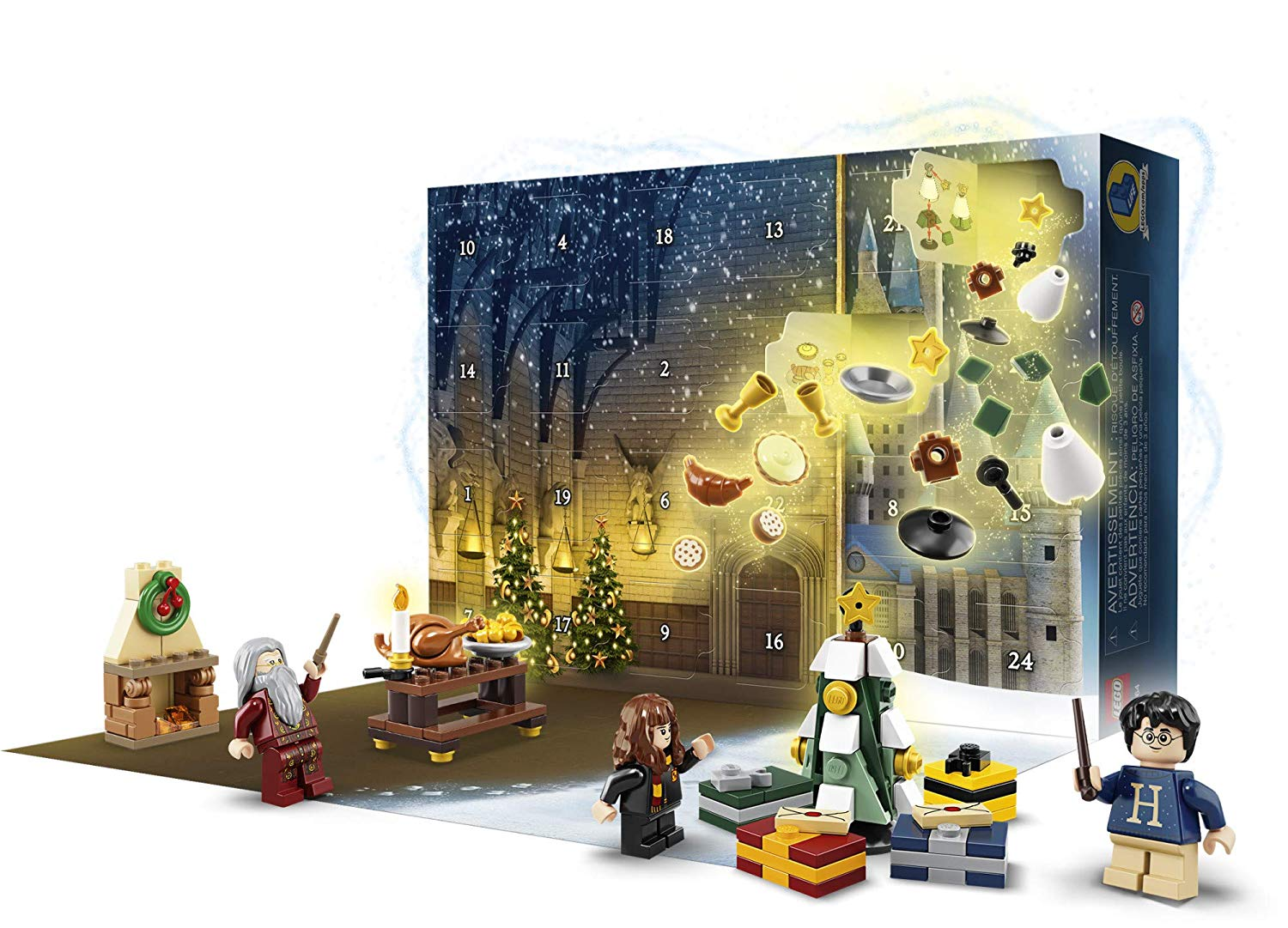 advent calendar lego harry potter