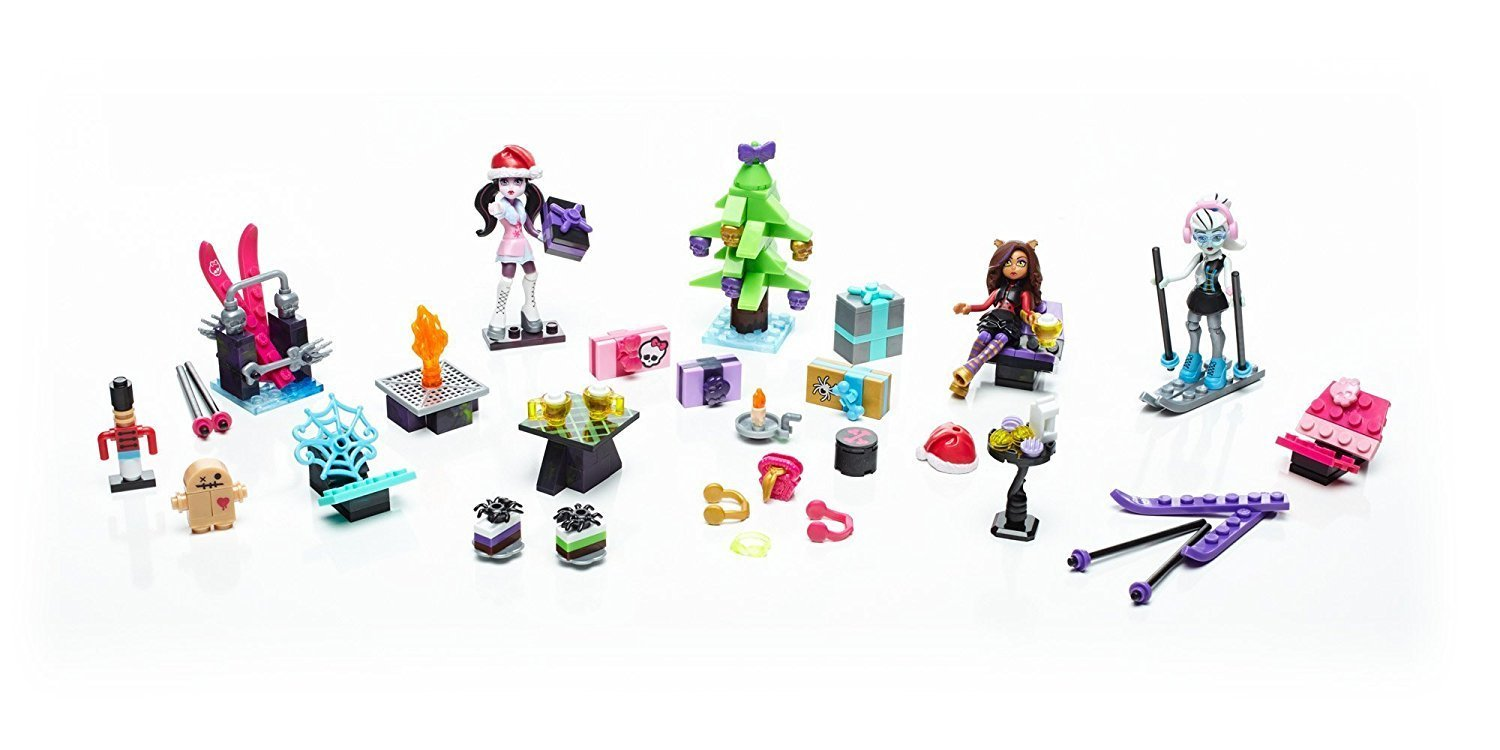 advent kalendar monster high mega blocks