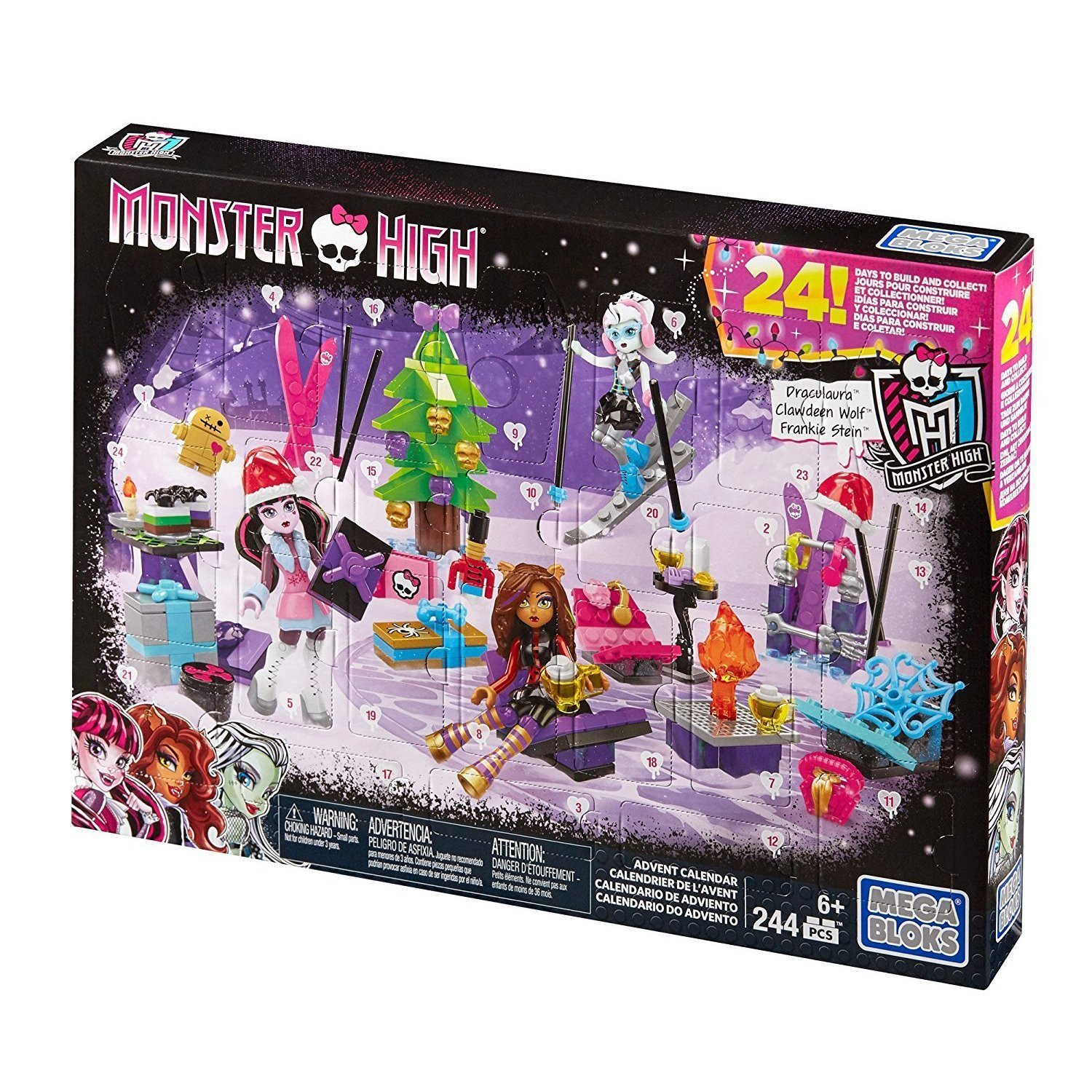 advent kalendar monster high