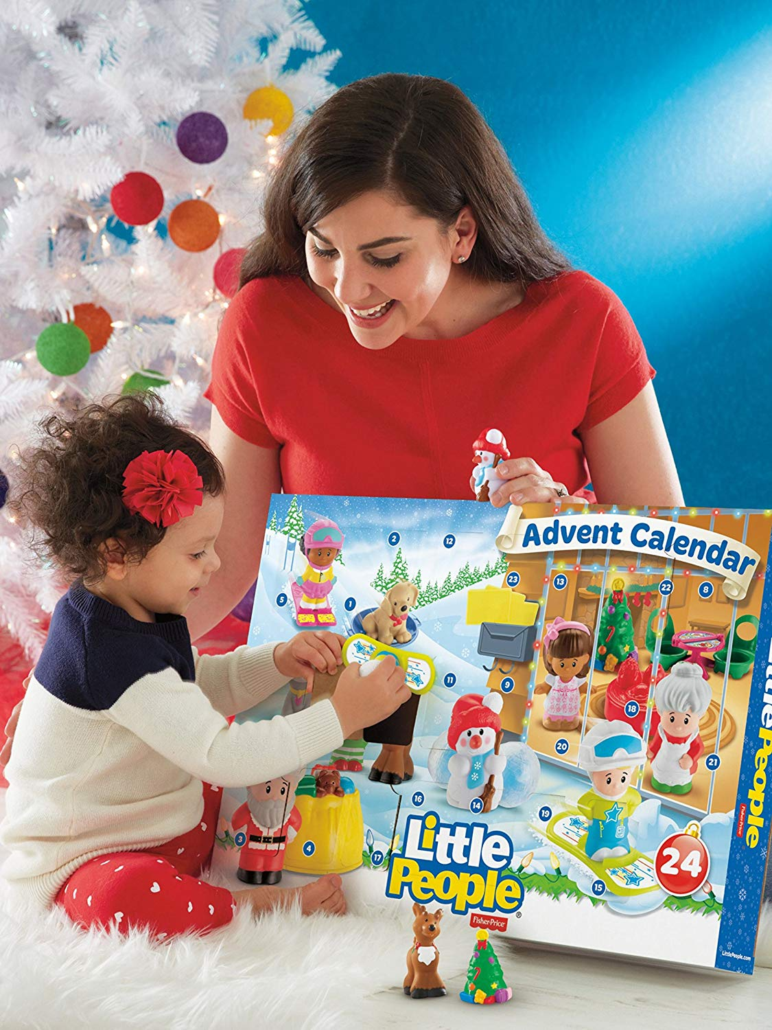 fisher price little people advent calendar