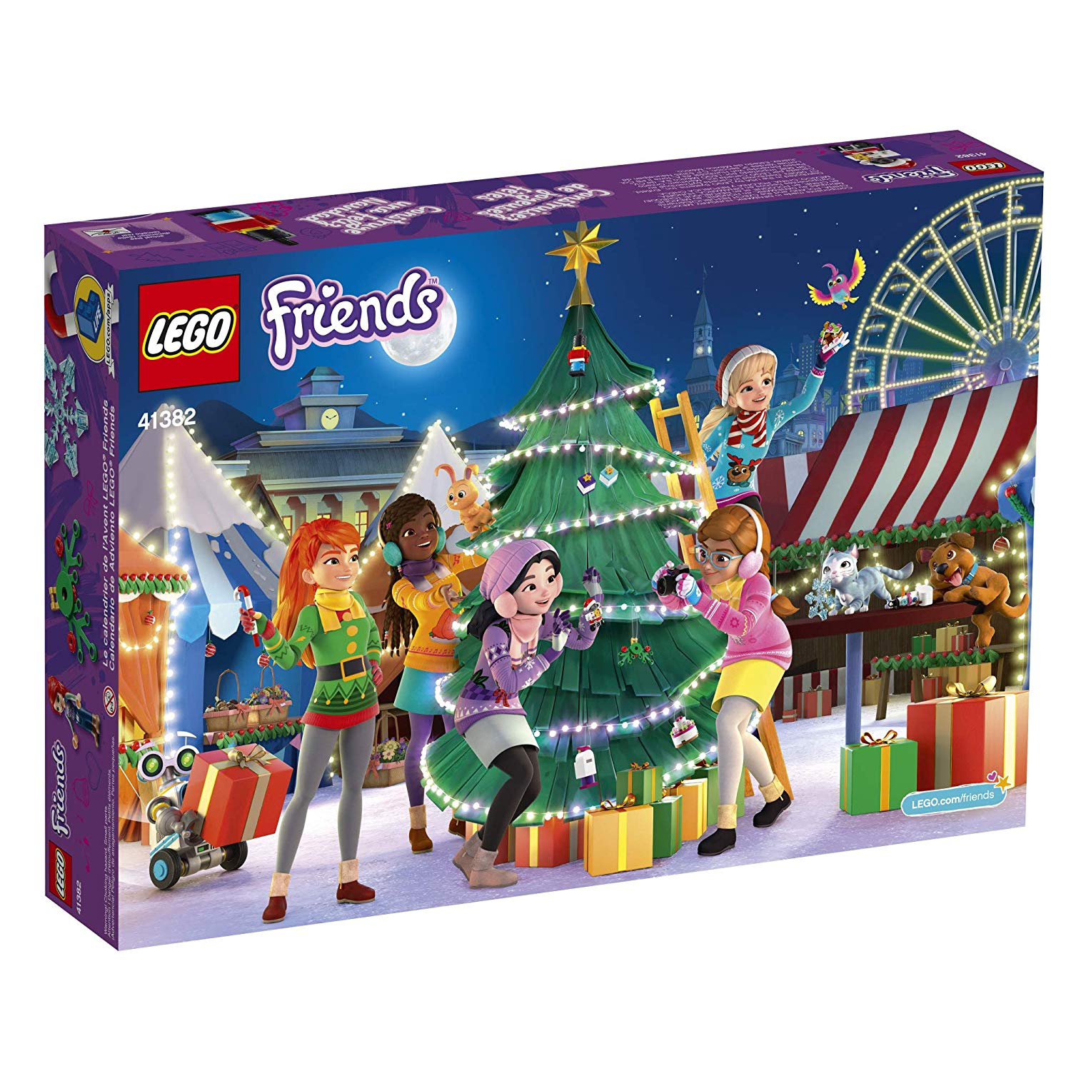 lego friends advent calendar 1