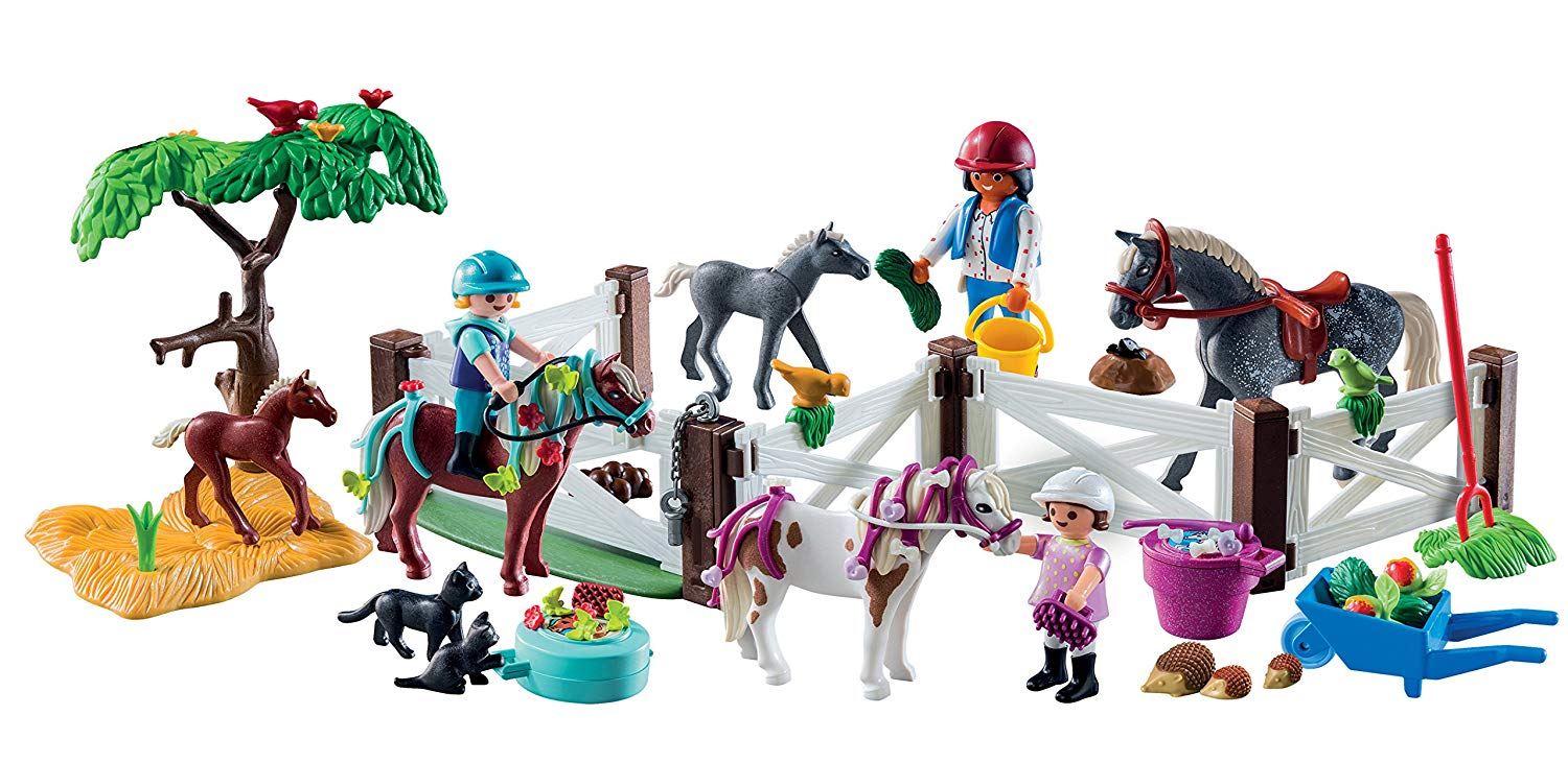 playmobil advent calendar horse farm 1