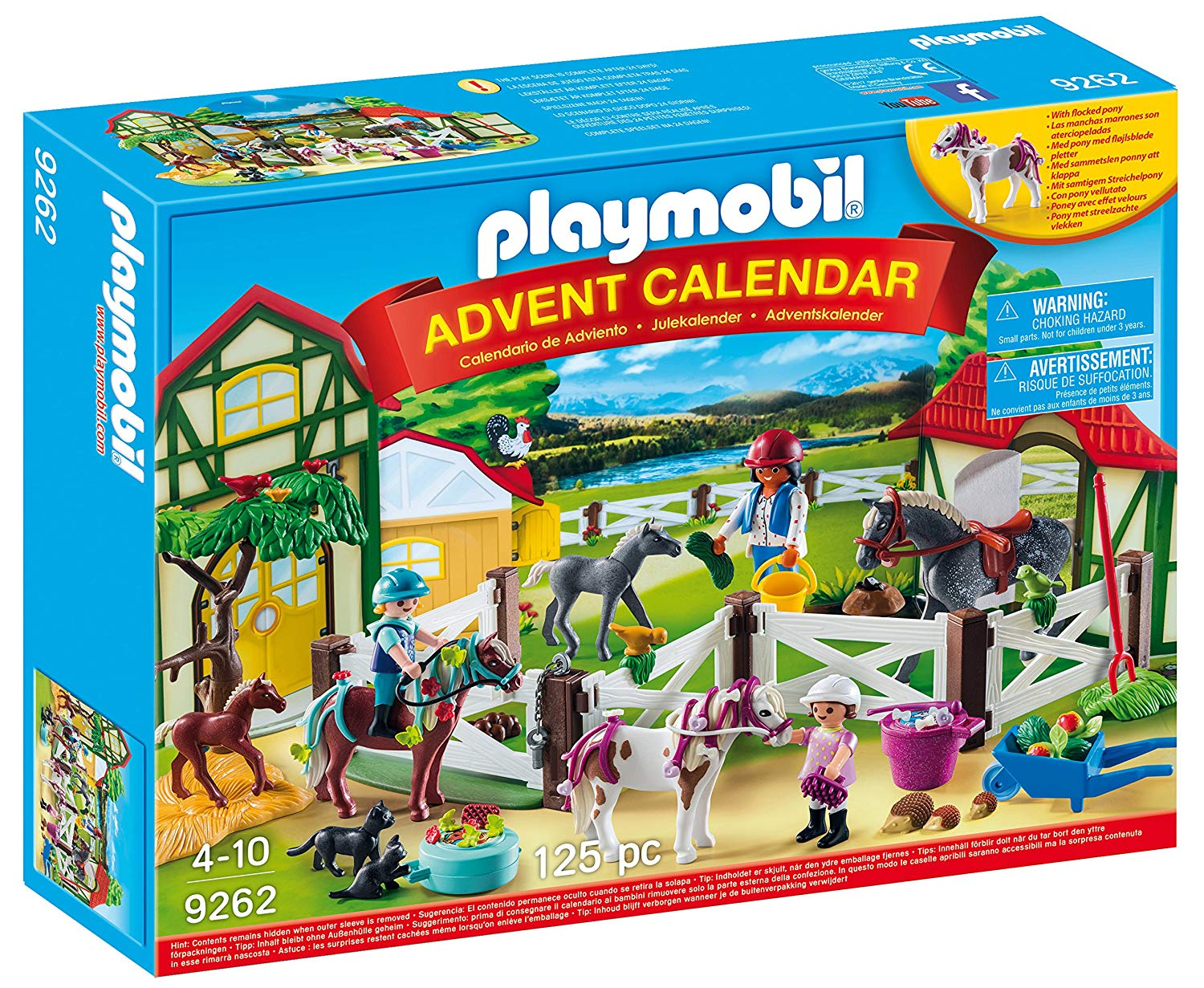 playmobil-advent calendar horse farm