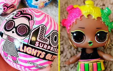 L.O.L Sparkle Doll LOL MGA Collectible Series Surprise