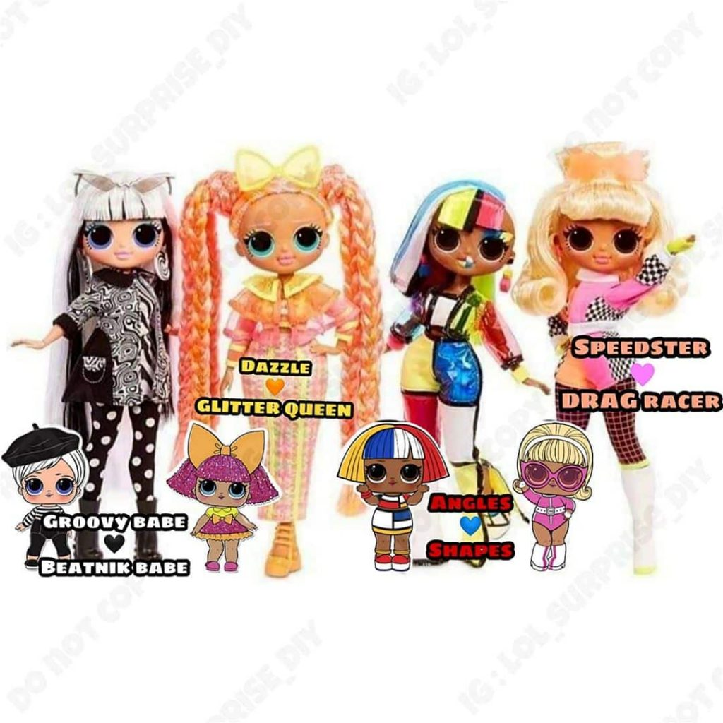 lol surprise omg lights dolls