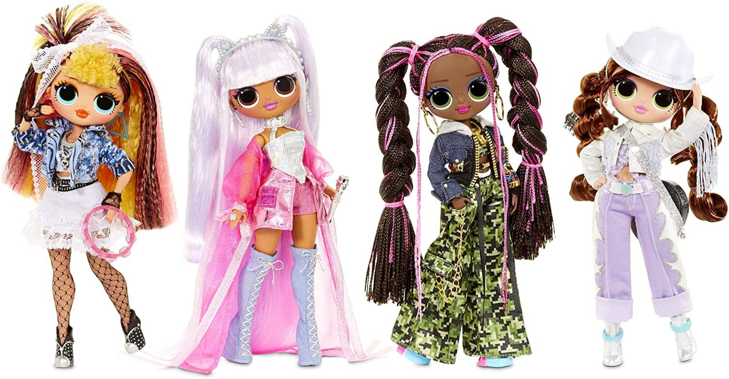 lol surprise omg remix dolls