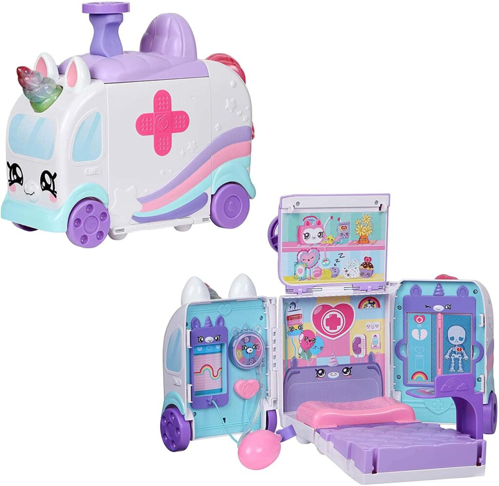 kindi kids hospital corner unicorn ambulance